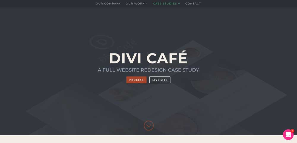 Dark WordPress Theme - Divi