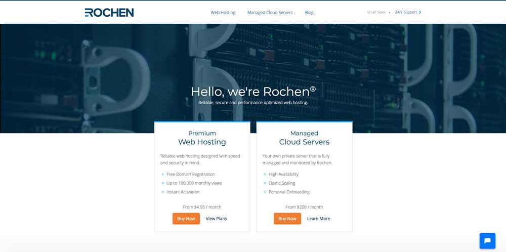 Rochen WordPress Hosting