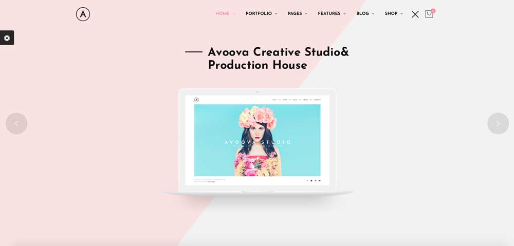 Avoova Pink Feminine Girly Fun WordPress Theme